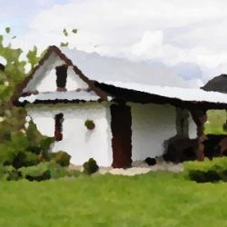domek na zielonej